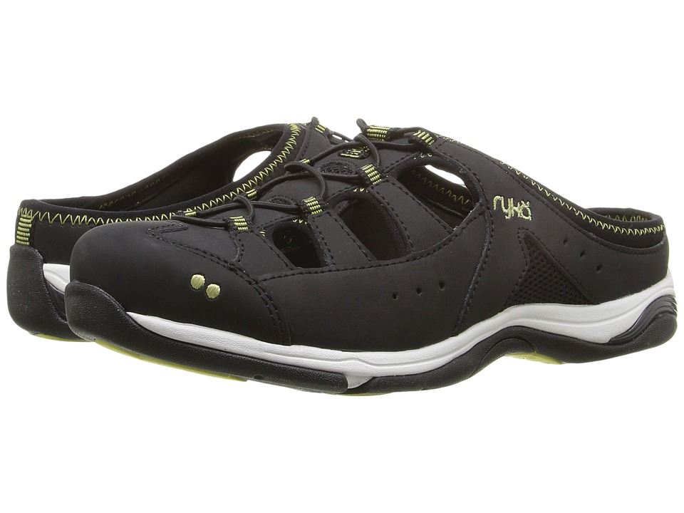 Ryka - Tensile (Black/Limelight) Women's Shoes