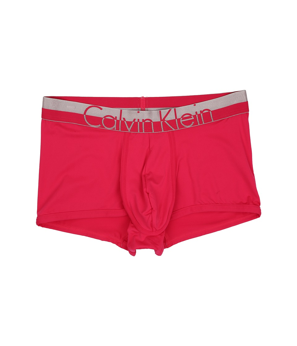 Calvin Klein Underwear - Magnetic Micro Low Rise Trunk (Deep Pink) Men's Underwear