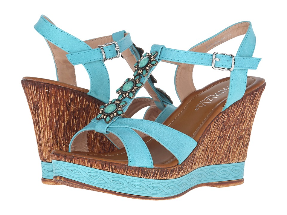 PATRIZIA - Saturn (Turquoise) Women's Wedge Shoes