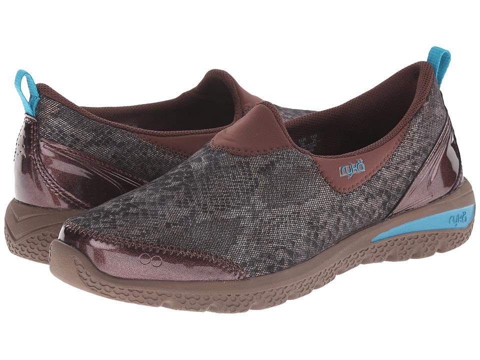 Ryka - Henley (Bronze/Brick Red) Women's Slip on Shoes