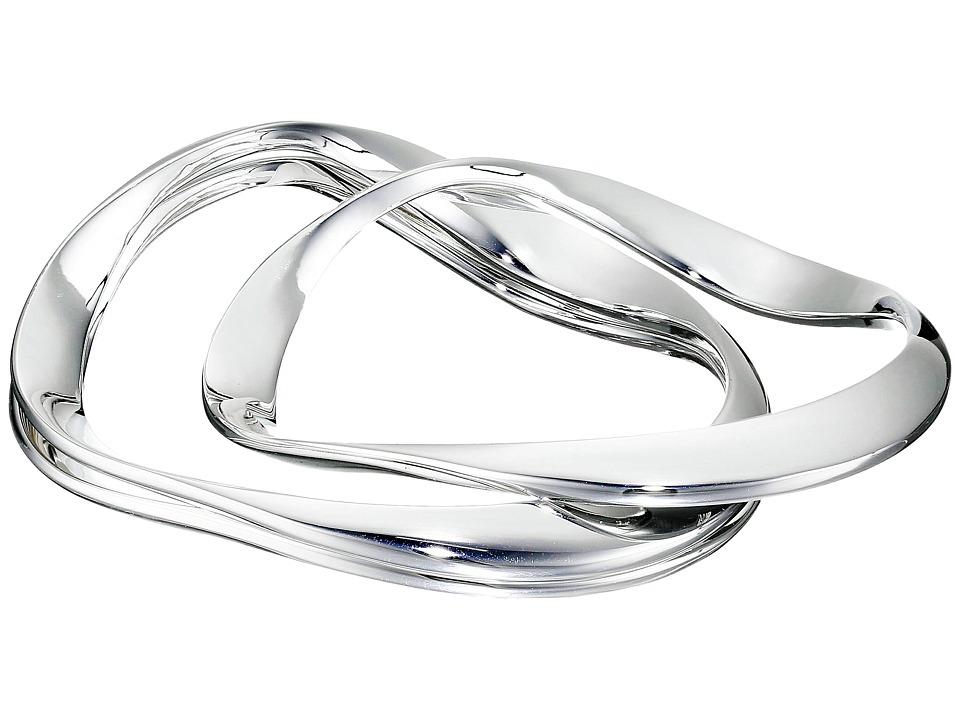 Robert Lee Morris - Wavy Bangle Bracelet Set (Silver) Bracelet