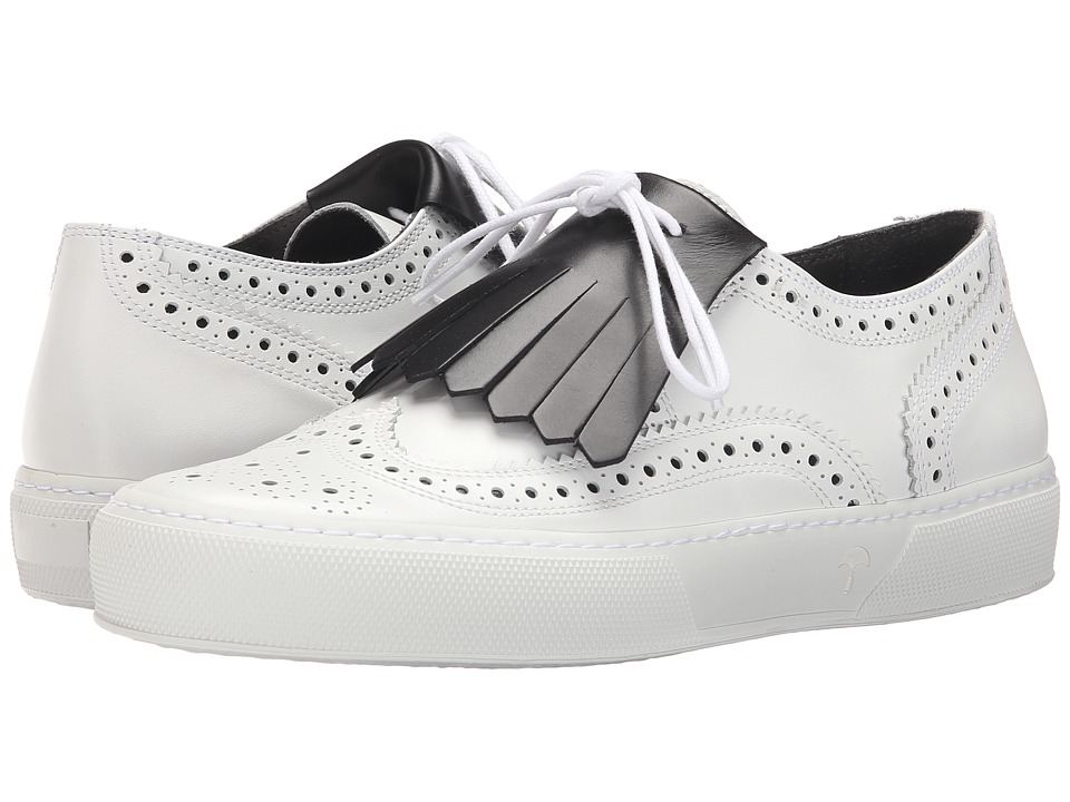 Robert Clergerie Tolka02 (White Calf Leather) Women