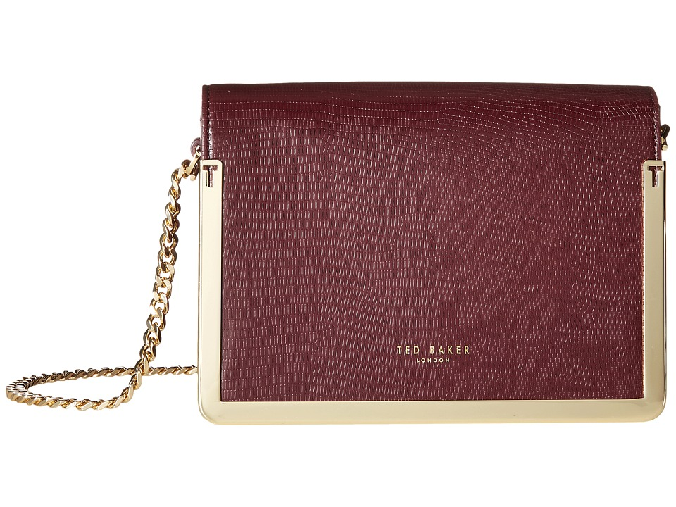 Ted Baker - Zanna (Maroon) Cross Body Handbags