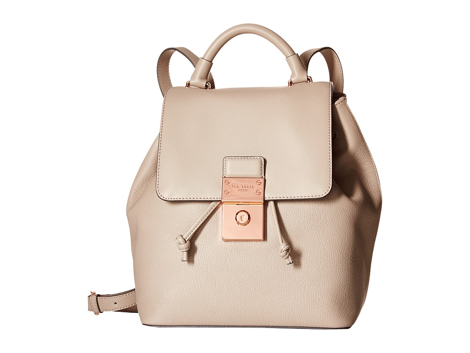 Ted Baker - Nahra (Light Grey) Backpack Bags