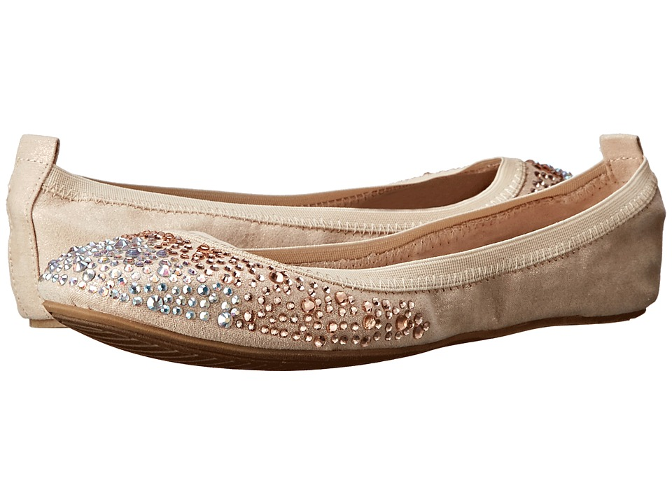 Kenneth Cole Unlisted - Whole Sparkle (Champagne) Women's Flat Shoes