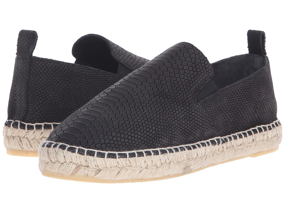 Vince - Robin (Black Nubuck Python) Women's Slip on Shoes