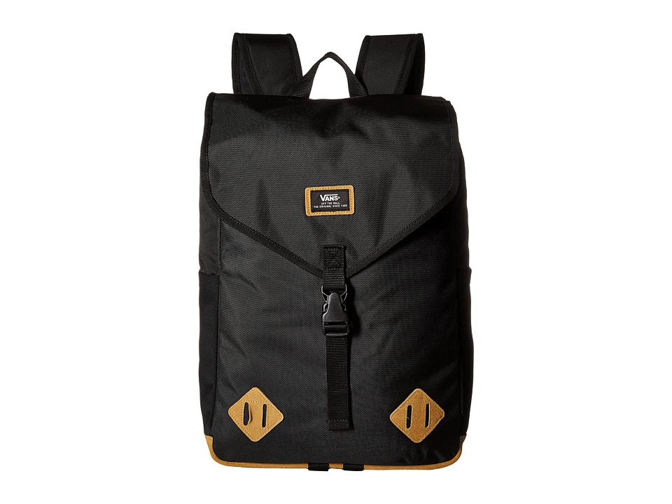 Vans - Nelson Backpack (Real Black) Backpack Bags