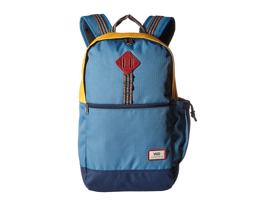 Vans - Van Doren II Backpack (Blue Ashes) Backpack Bags