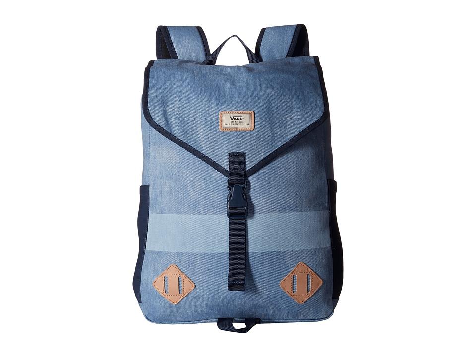 Vans - Nelson Backpack (Bleached Indigo) Backpack Bags