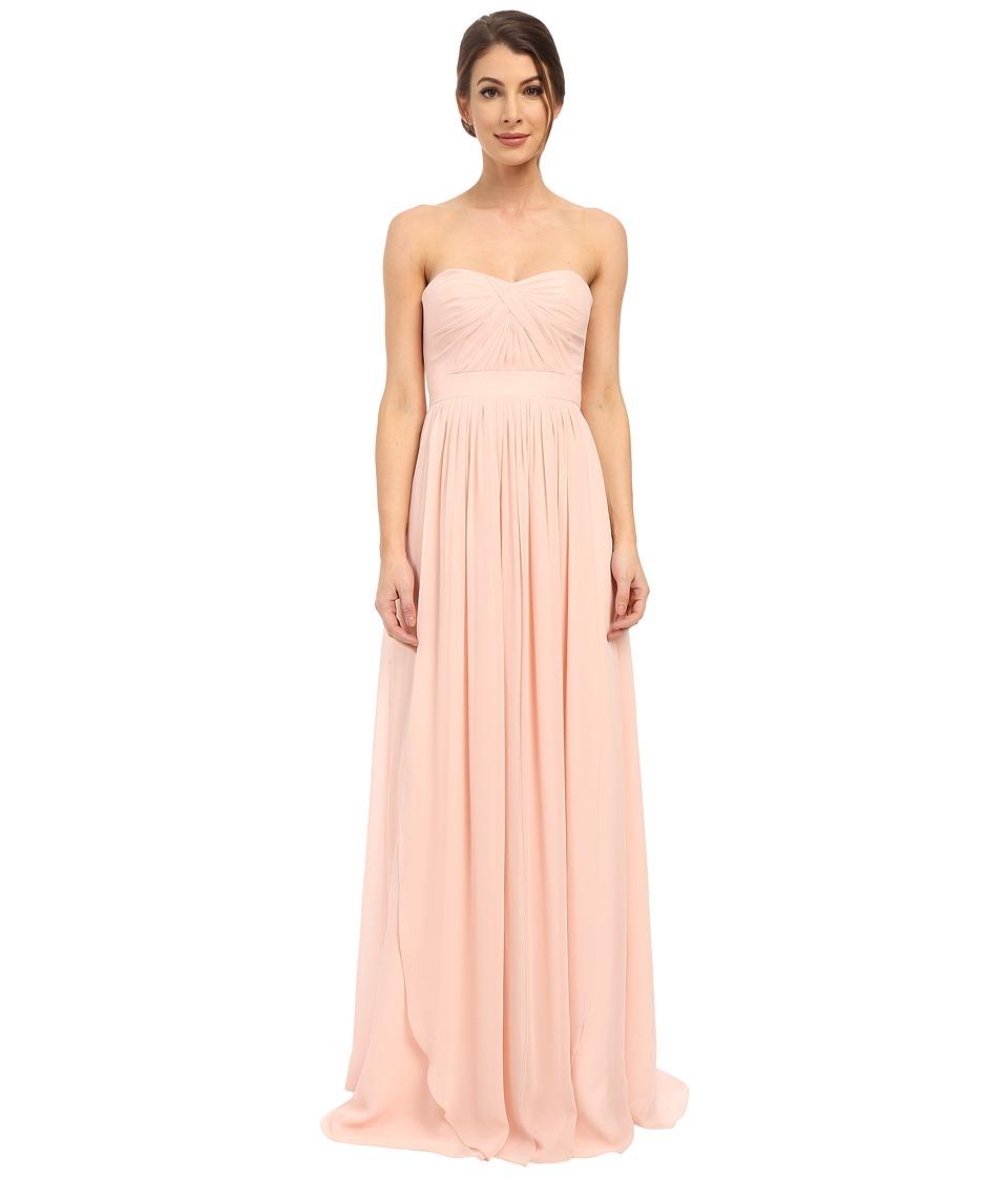 Faviana - Strapless Chiffon Convertible Dress 7822 (Cameo) Women's Dress