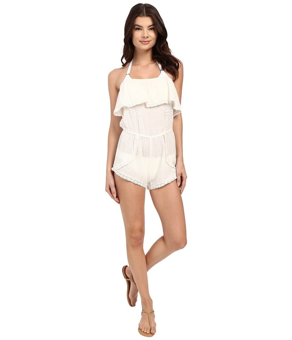 Billabong - Behind the Sun Romper Cover-Up (Cool Wip) Women's Swimsuits One Piece