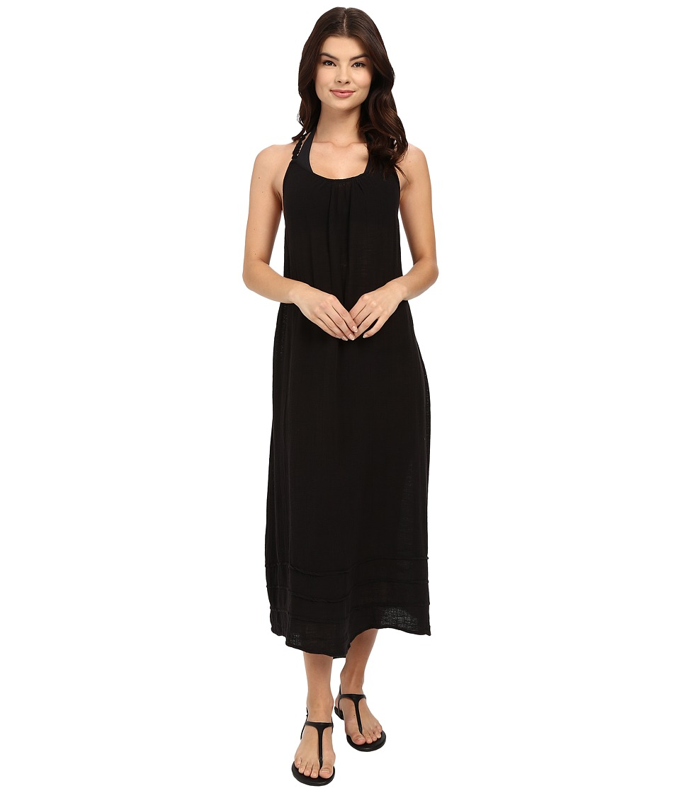 Billabong - Behind the Sun Maxi Cover-Up (Black) Women's Swimwear