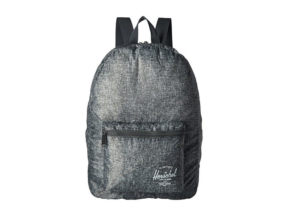 Herschel Supply Co. - Packable Daypack (Raven Crosshatch) Backpack Bags