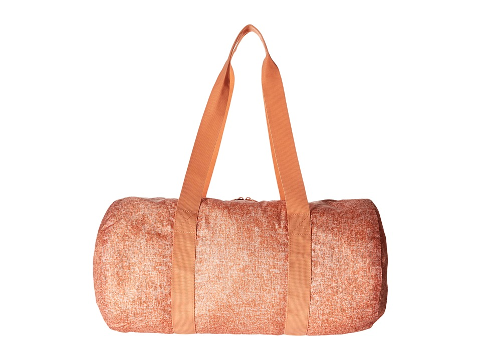 Herschel Supply Co. - Packable Duffle (Nectarine Crosshatch) Duffel Bags