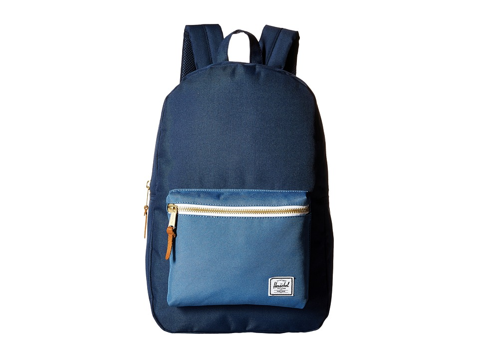 Herschel Supply Co. - Settlement (Navy/Captain's Blue) Backpack Bags