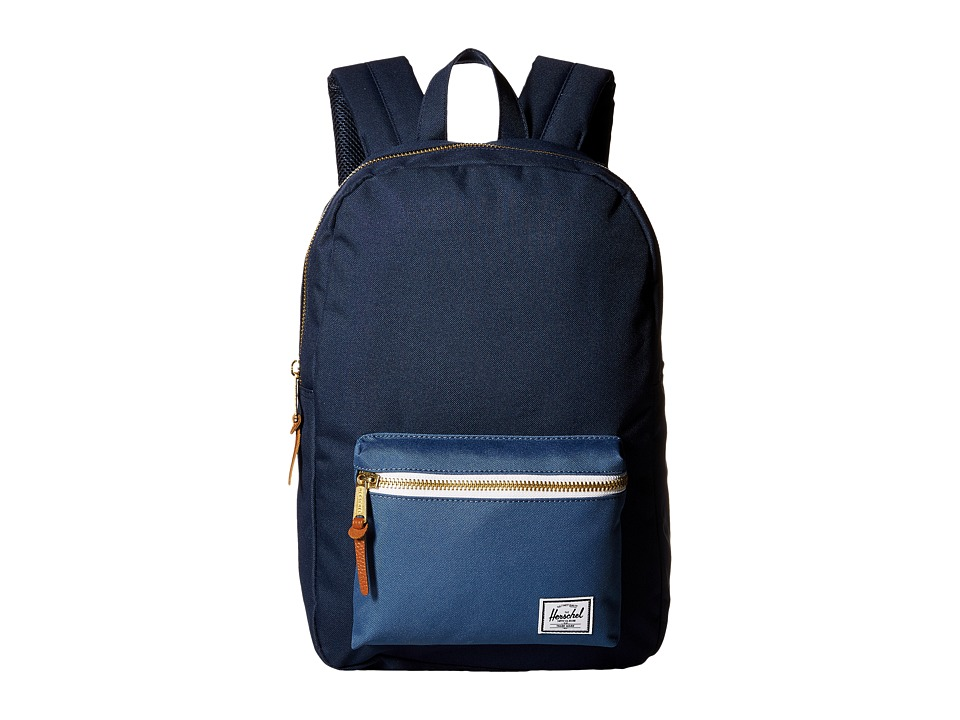 Herschel Supply Co. - Settlement Medium (Navy/Captain's Blue) Backpack Bags