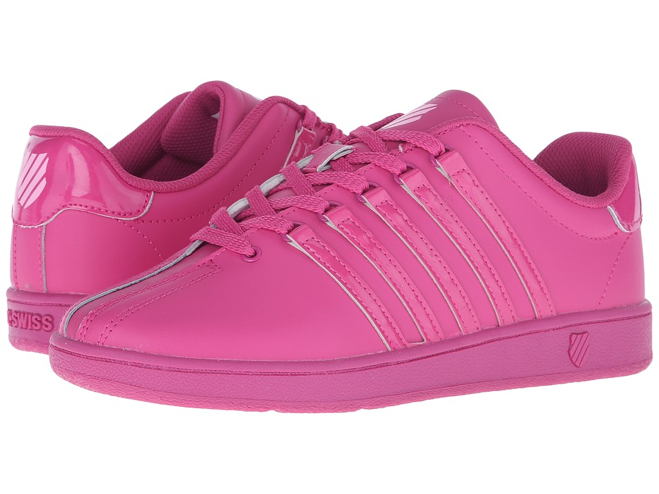 K-Swiss Kids - Classic VN (Big Kid) (Very Berry/Pink Leather) Kids Shoes