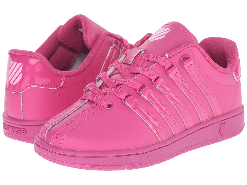 K-Swiss Kids - Classic VN (Little Kid) (Very Berry/Pink Leather) Kids Shoes