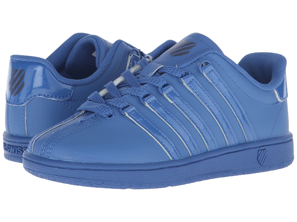K-Swiss Kids - Classic VN (Little Kid) (Federal Blue/Navy Leather) Kids Shoes