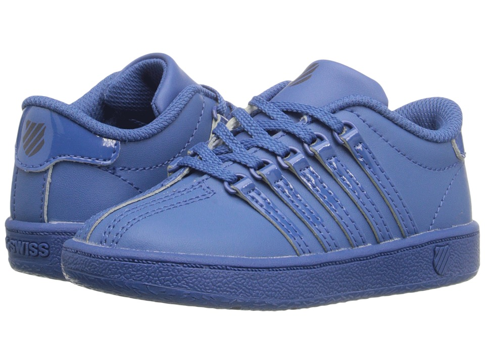 K-Swiss Kids - Classic VN (Infant/Toddler) (Federal Blue/Navy Leather) Kids Shoes