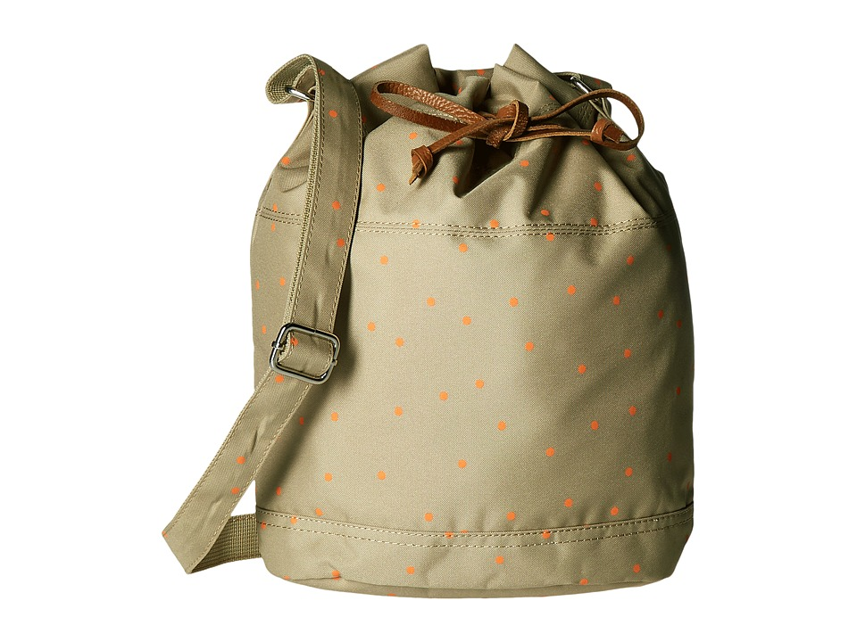 Herschel Supply Co. - Carlow (Khaki/Nectarine Scatter) Tote Handbags
