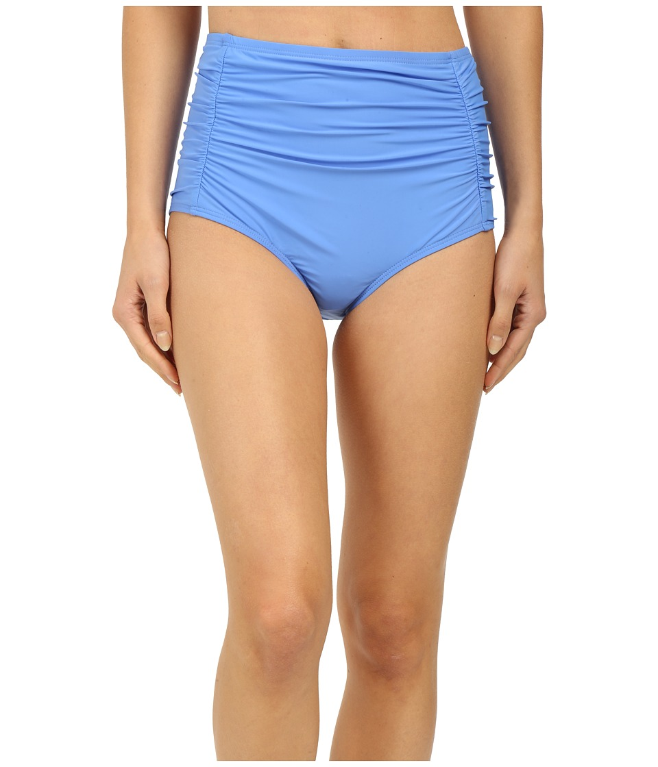 Athena - Cabana Solids High Waist Bottom (Corn Flower) Women's Swimwear