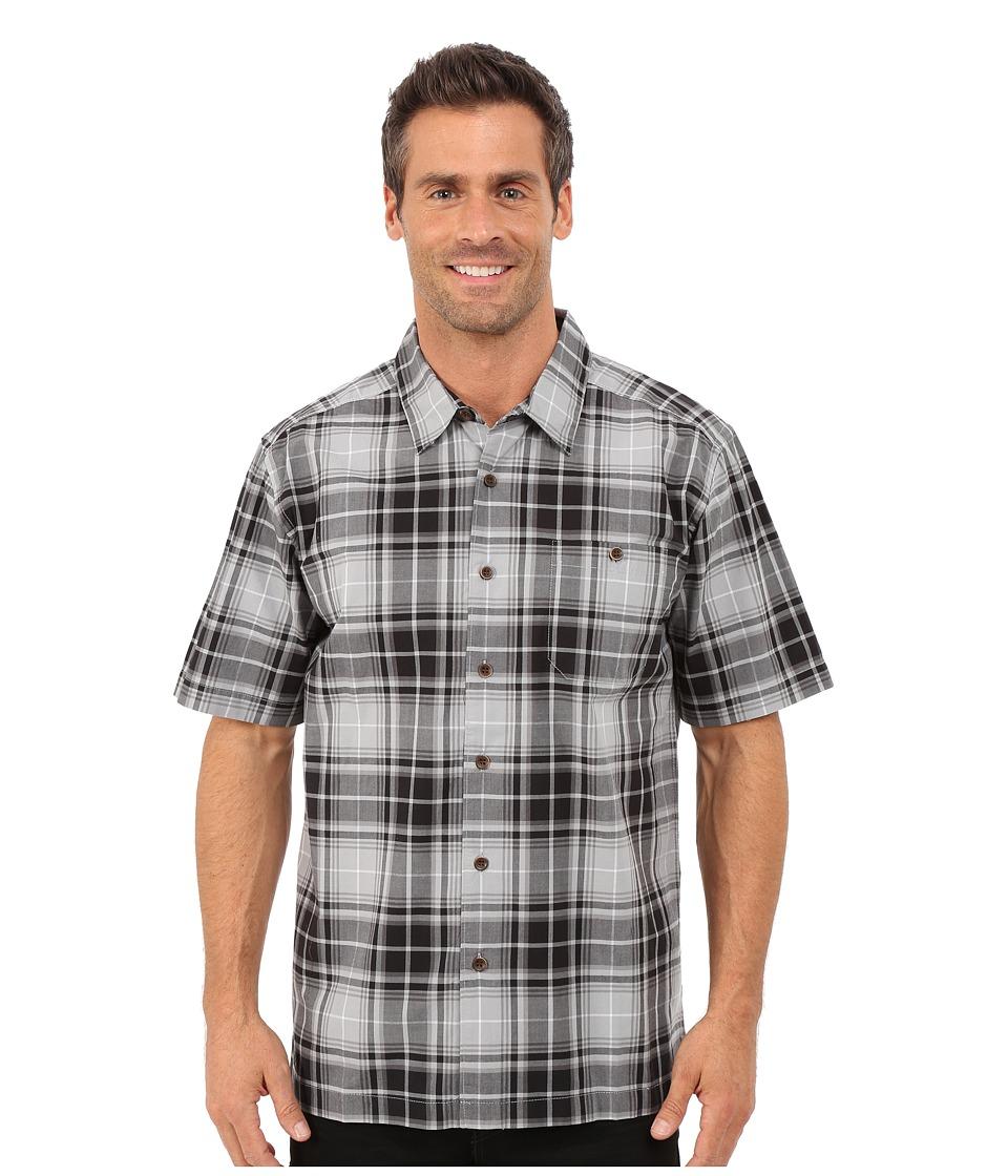 Quiksilver Waterman - Blackies Woven Shirt (Zinc) Men's Short Sleeve Button Up