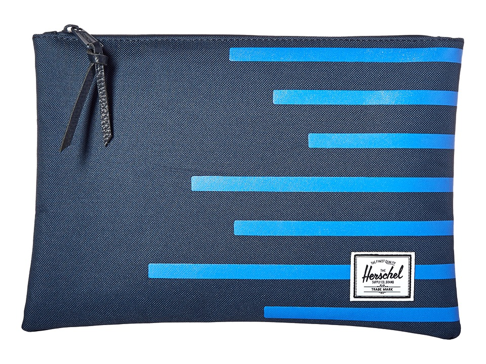 Herschel Supply Co. - Network L (Navy/Cobalt Stripes) Wallet