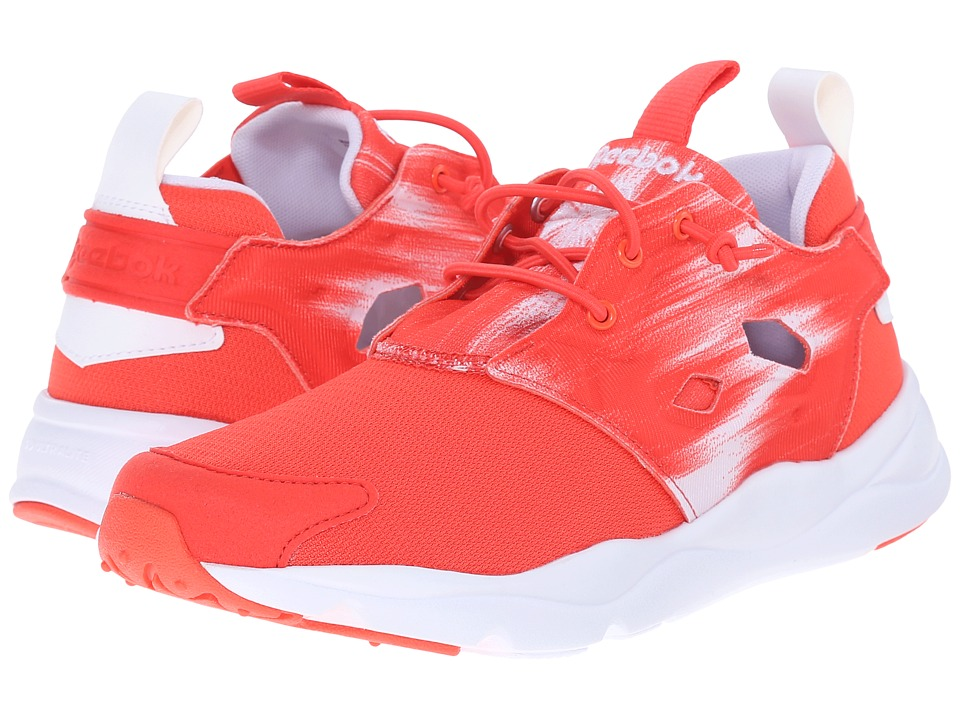 Reebok Lifestyle - Furylite Contemporary (Laser Red/White) Women's Shoes