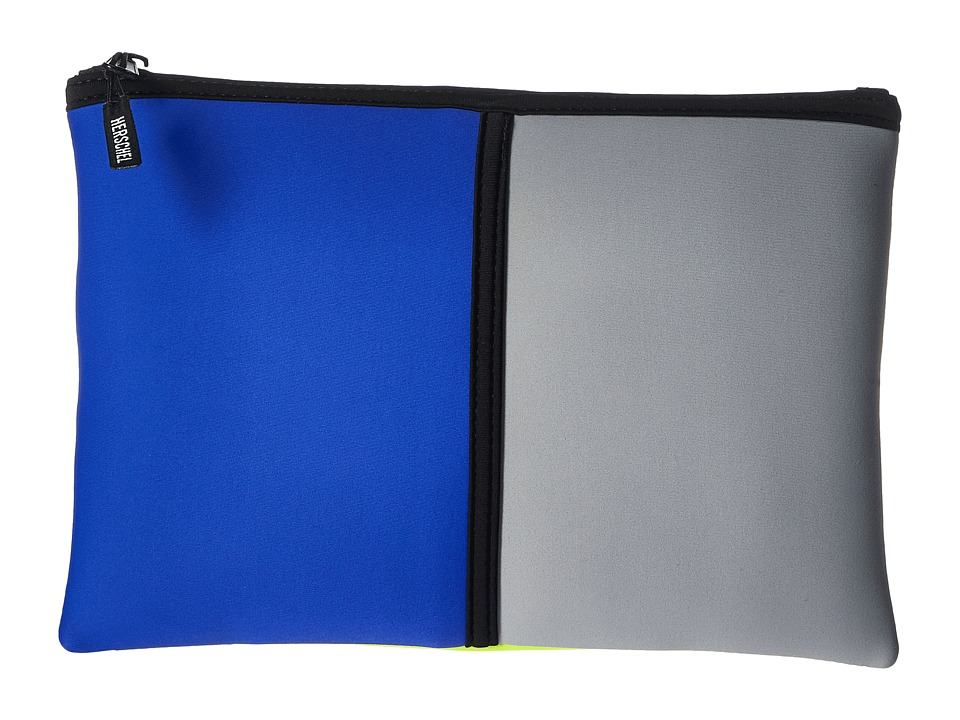 Herschel Supply Co. - Network L (Cobalt/Grey/Neon Lime Neoprene) Wallet