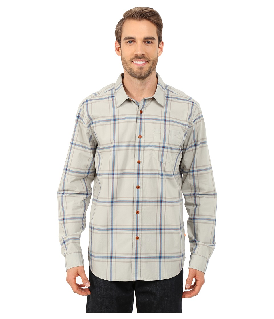 Quiksilver Waterman - Bahia Woven Shirt (Sandbar) Men's Long Sleeve Button Up