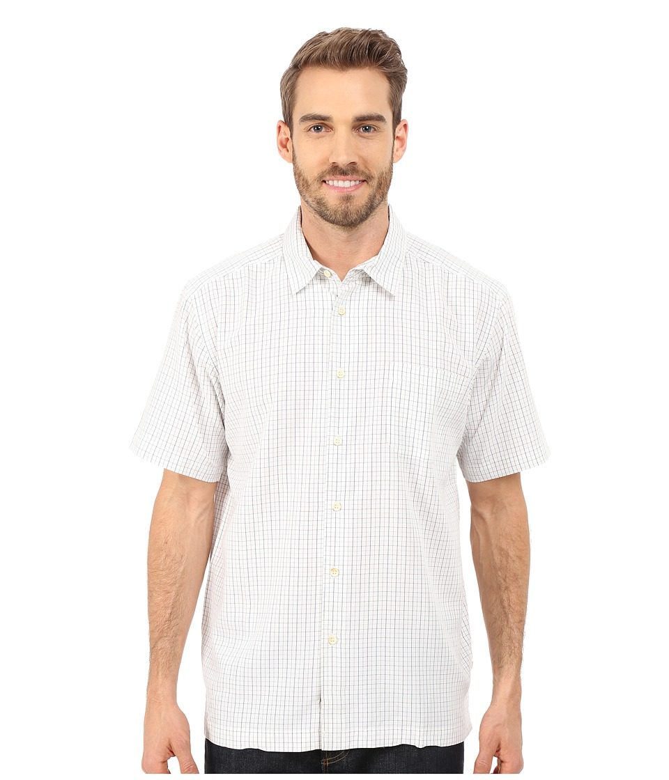Quiksilver Waterman - Hadlock Woven Shirt (White) Men's Short Sleeve Button Up