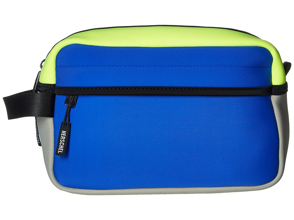 Herschel Supply Co. - Chapter (Cobalt/Grey/Neon Lime Neoprene) Toiletries Case