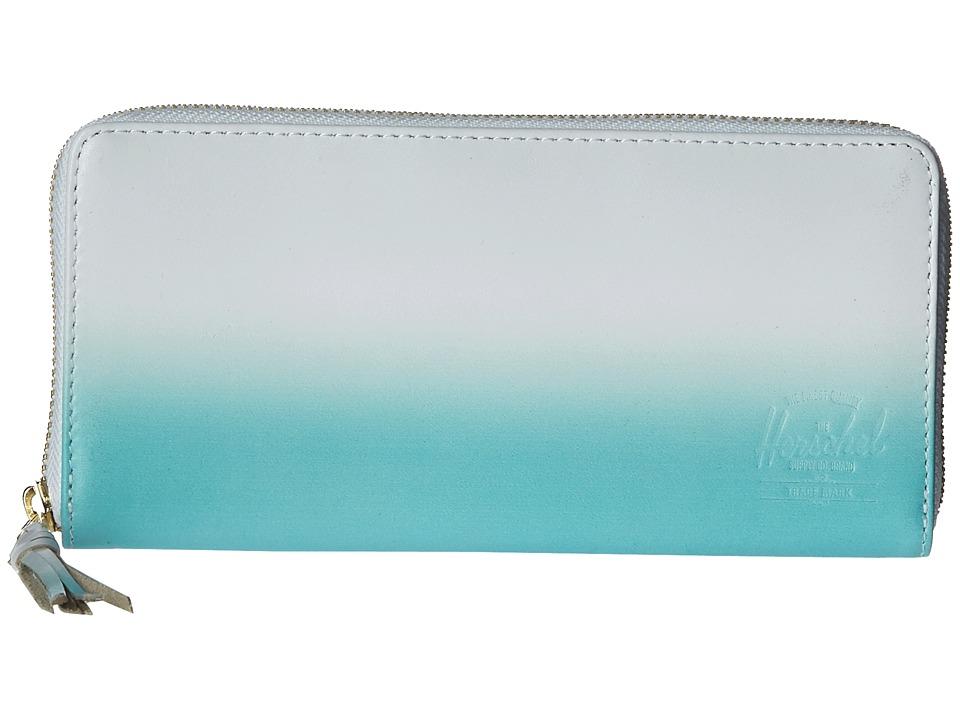 Herschel Supply Co. - Avenue (White/Aqua Gradient) Wallet Handbags