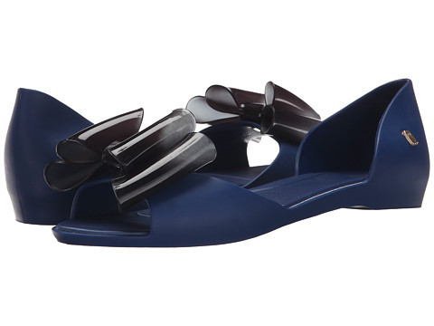 Melissa Shoes - Seduce VII (Blue) Women's Dress Flat Shoes