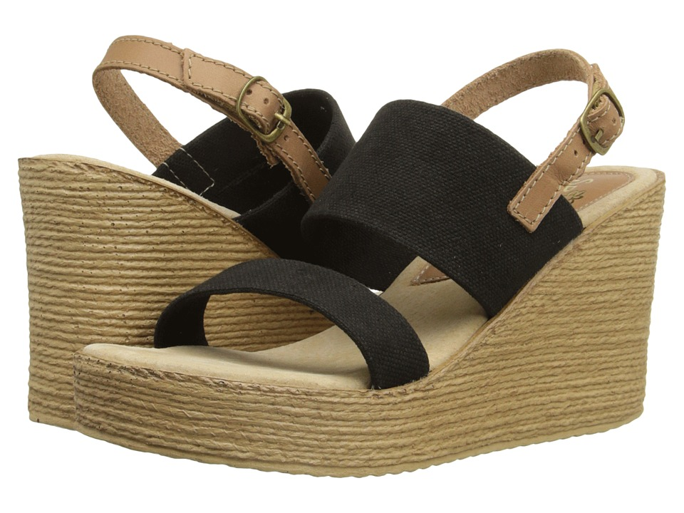 Sbicca - Camilla (Black) Women's Wedge Shoes