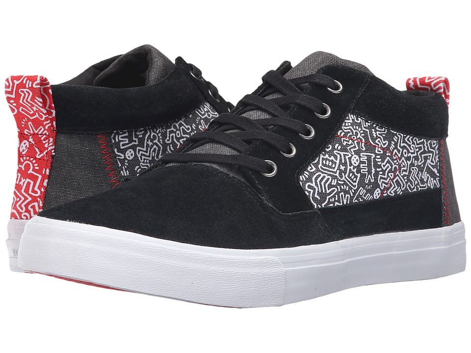 TOMS - Valdez Mid - Keith Haring (Keith Haring Chalkboard) Men's Lace up casual Shoes