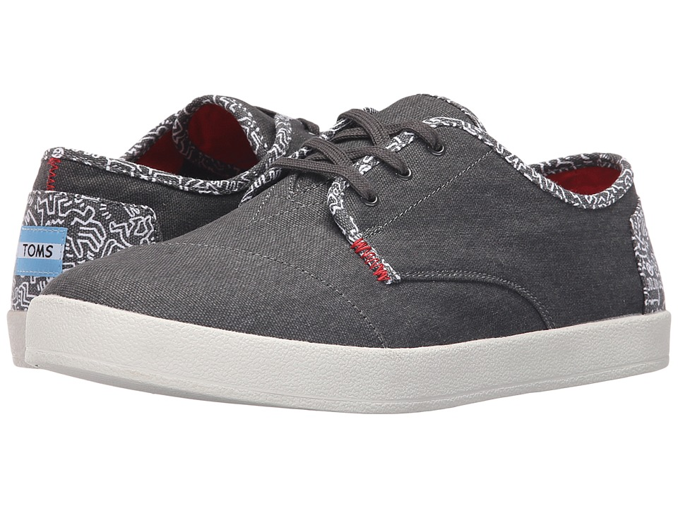 TOMS - Paseo - Keith Haring (Keith Haring Chalkboard) Men's Lace up casual Shoes