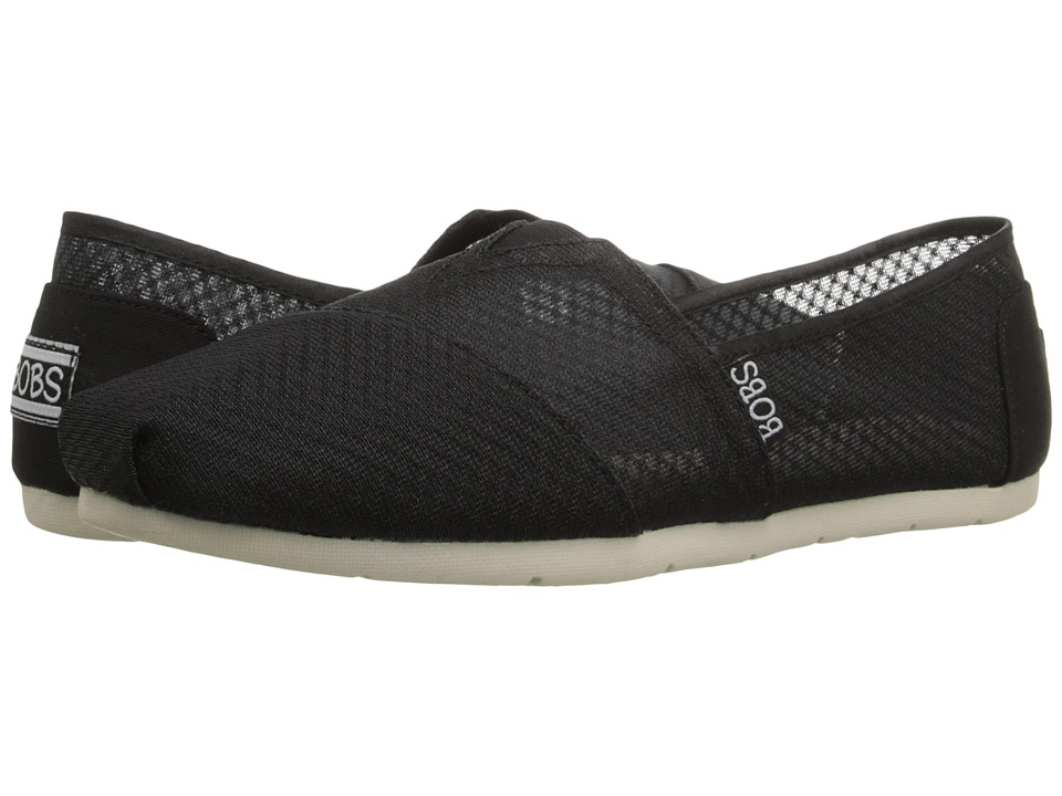 BOBS from SKECHERS Luxe Bobs Star Gazer (Black) Women