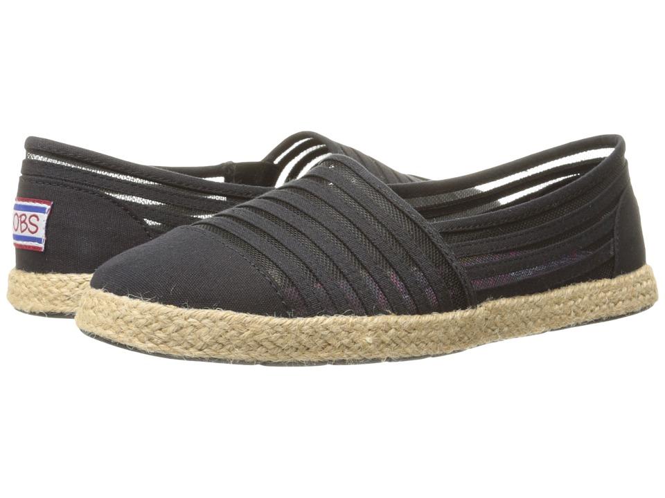 BOBS from SKECHERS - Flexpadrille - Dahlia (Black) Women's Flat Shoes
