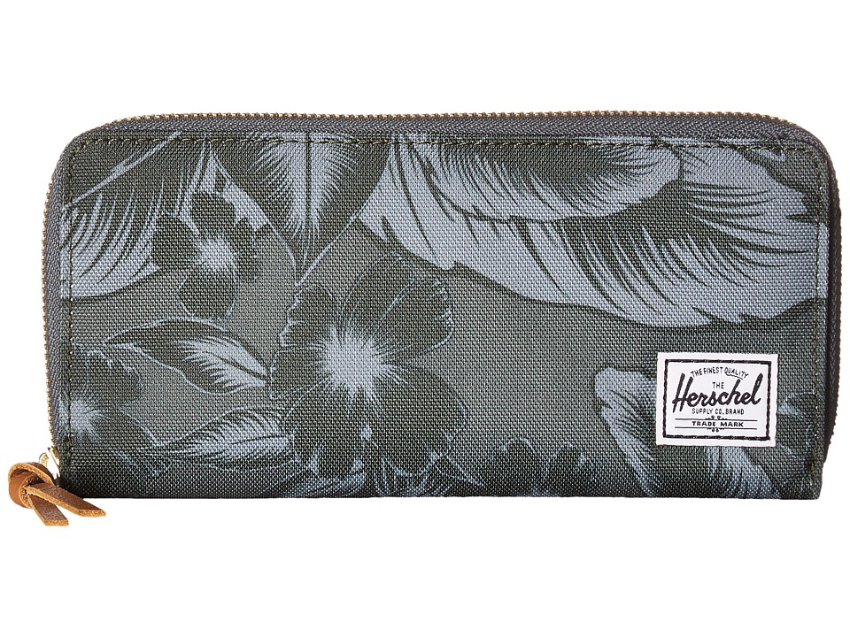 Herschel Supply Co. - Avenue (Jungle Floral Green) Wallet Handbags