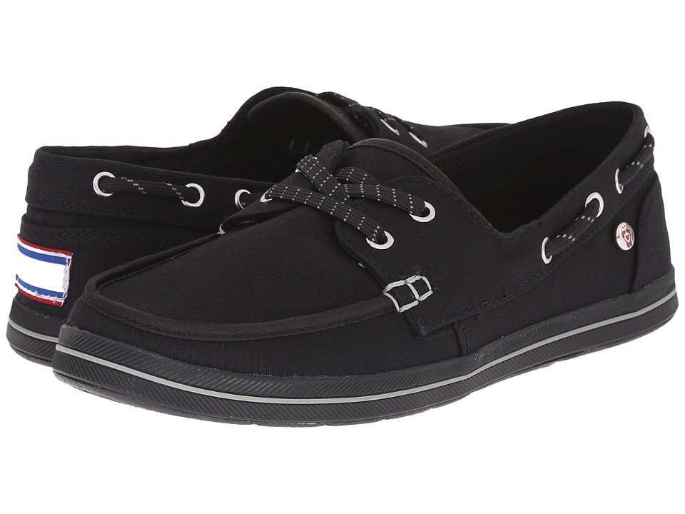 BOBS from SKECHERS - Bobs Flexy - Sea Legs (Black) Women's Lace up casual Shoes