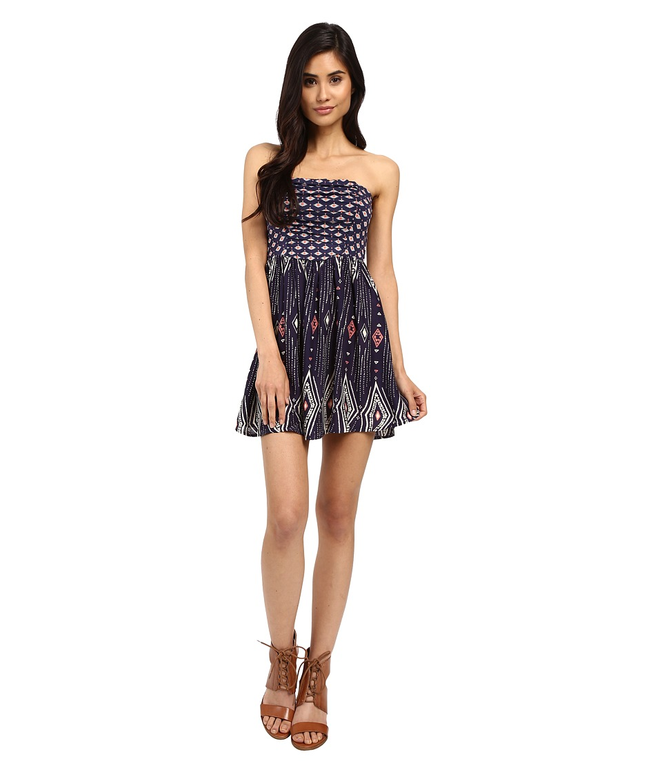 Roxy - Double Dose Dress (Geo Carpet Combo/Eclipse) Women's Dress