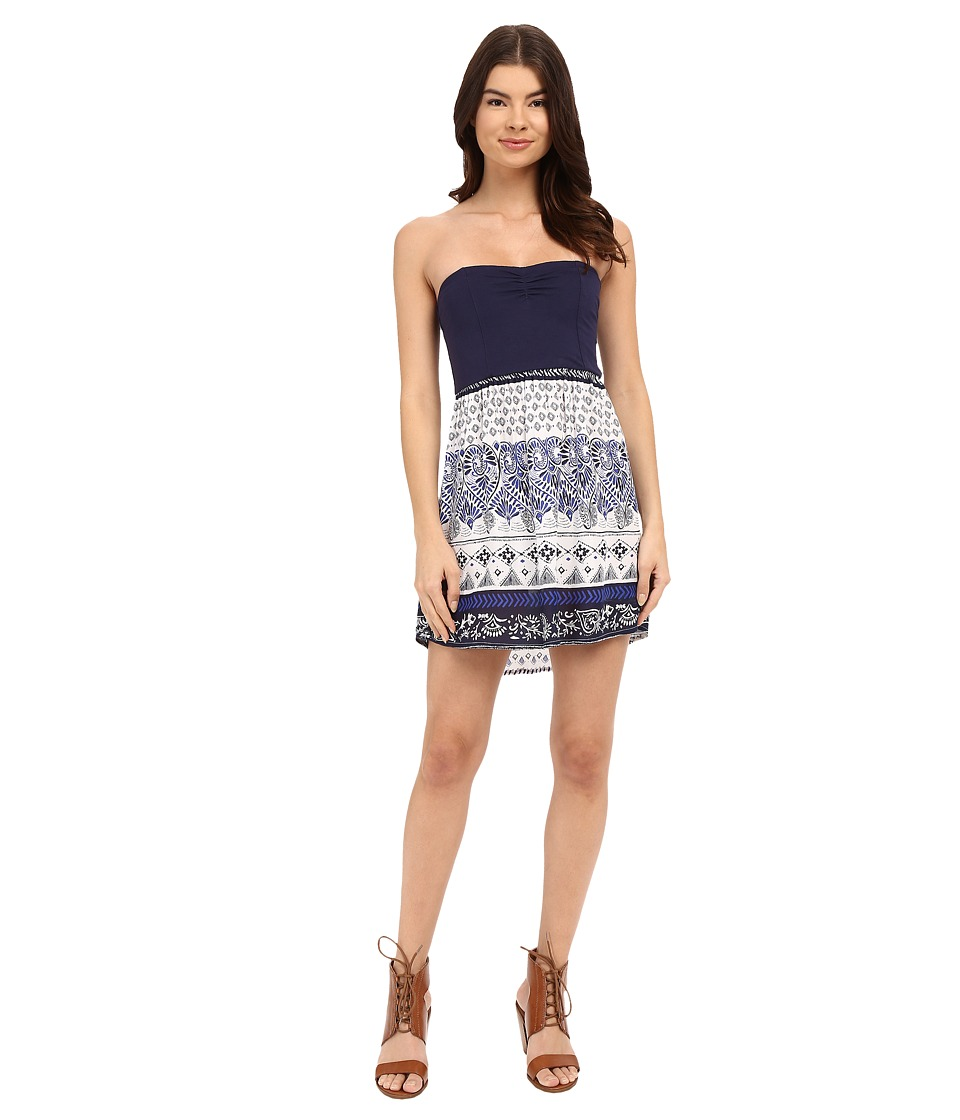 Roxy - Sleep to Dream Dress (Souk Paisley Sportwear Combo/Bright White) Women's Dress