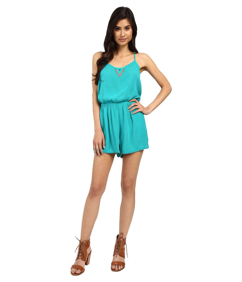 Roxy - Beauty Brigade Romper (Columbia) Women's Jumpsuit & Rompers One Piece