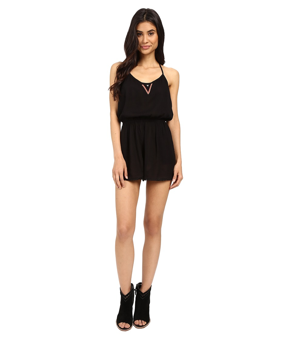 Roxy - Beauty Brigade Romper (True Black) Women