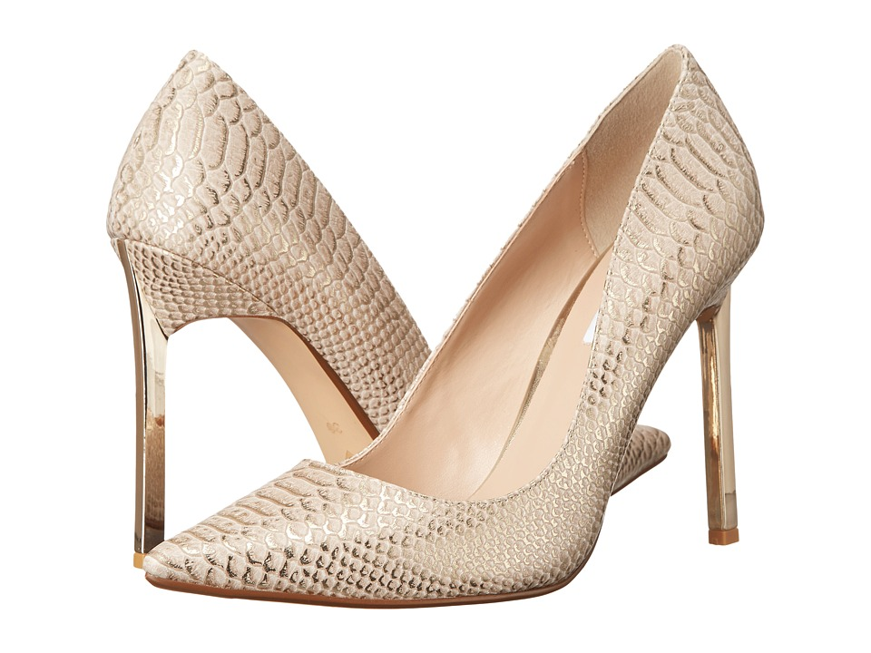 Dune London - Bacardie (Gold Reptile) High Heels