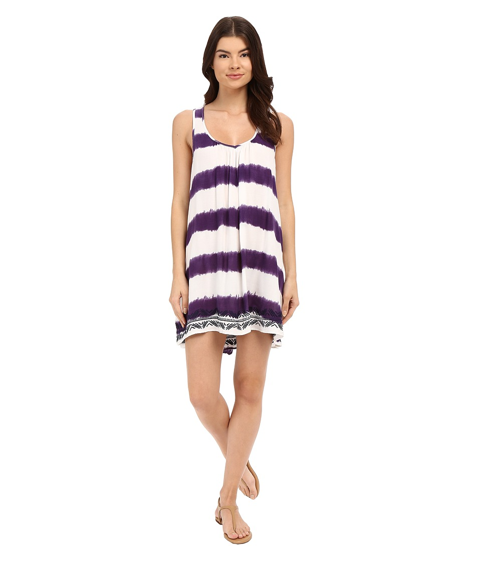 Roxy - On On Dress (Rugby Stripe) Women's Dress