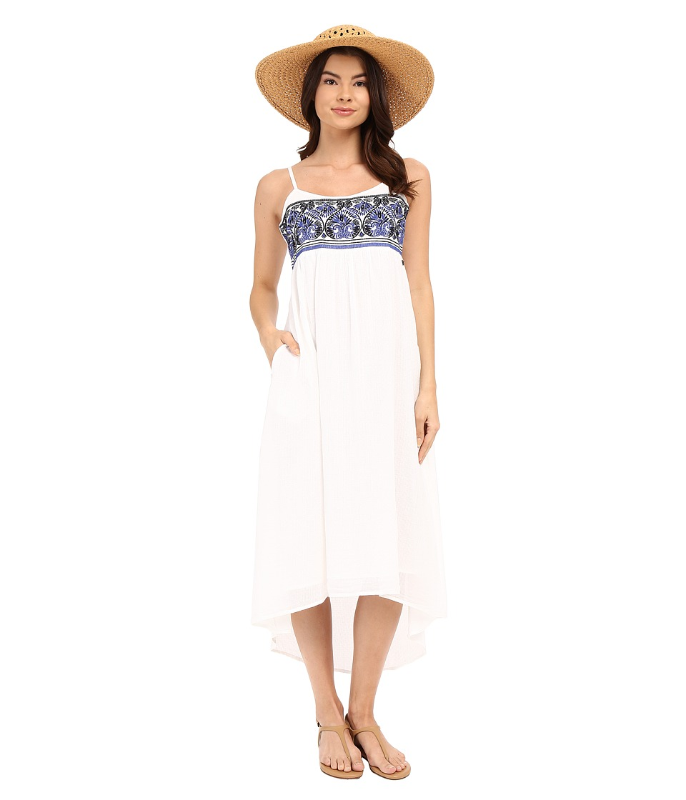 Roxy - Wild Horses Dress (Bright White) Women's Dress