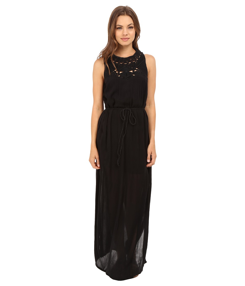 Roxy - Shining Sea Dress (True Black) Women's Dress